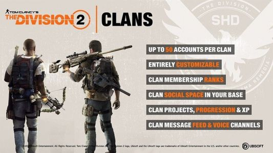 How The Division 2's clans work