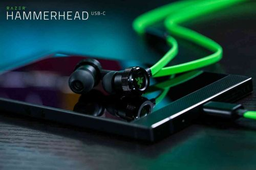 Razer Hammerhead USB-C earbuds now available, pair well with Razer Phone