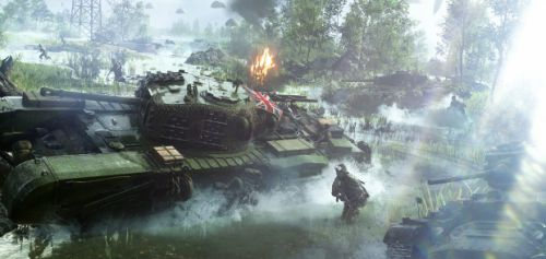 "Battlefield V interview: dodging the lootbox question, and why battle royale ""would really fit the universe"""