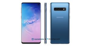 Samsung Galaxy S10 leaked render reveals sleek-looking blue colour