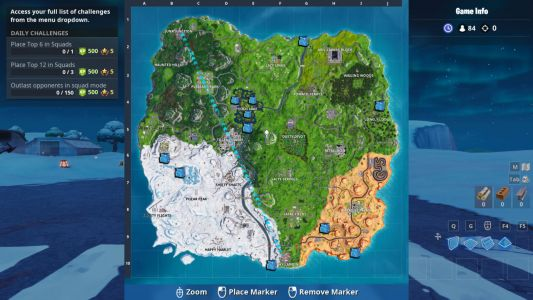 Fortnite Waterfall Location Guide For Overtime Challenge