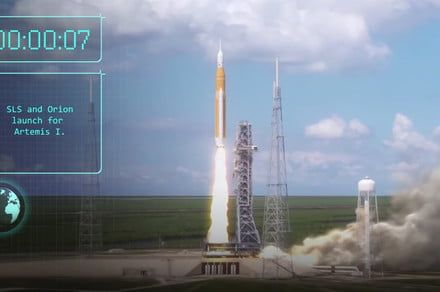 Watch NASA's animation of upcoming Artemis 1 moon mission