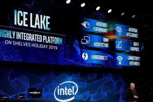Intel boldly claims its 'Ice Lake' integrated graphics are as good as AMD's