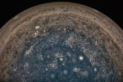 NASA's Juno spacecraft finds planet-sized cyclones and a dynamic magnetic field at Jupiter