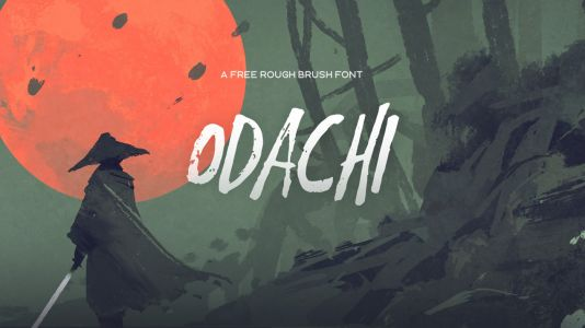20 top free brush fonts