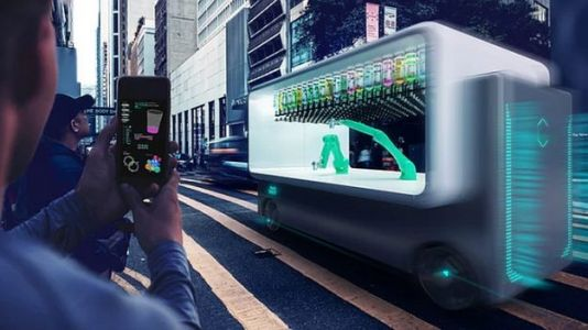 Autonomous Bar Will Drive Up And Mix You Drinks