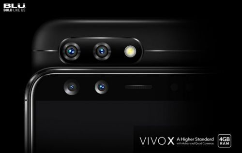 BLU VIVO X brings four cameras to the mid-range table