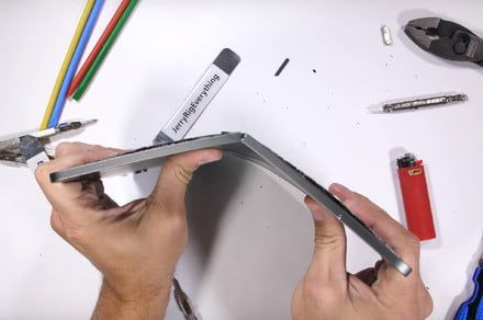 New iPad Pro's durability in question after it fails YouTuber's bend test