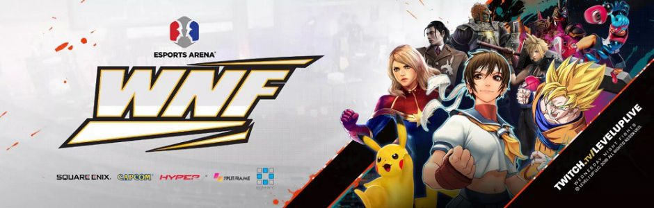 Wednesday Night Fights x Orange County streaming live tonight from Esports Arena, featuring Street Fighter V, Dragon Ball FighterZ, and more!