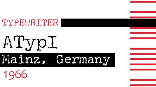 The 17 best typewriter fonts