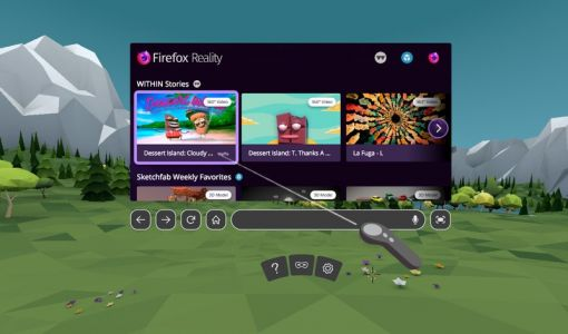 Firefox Reality brings 'immersive web' to Oculus, Viveport, Daydream