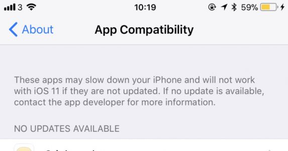 IPhone protip: How to check which apps work on iOS 11 before updating