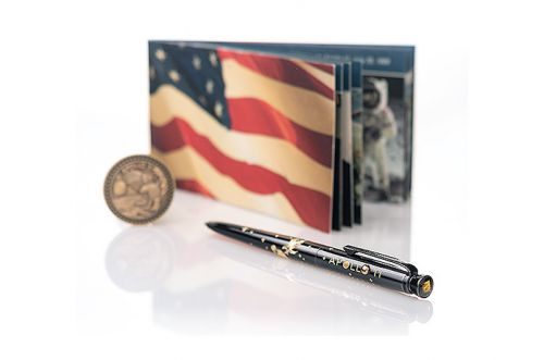 Fisher Space Pen Marks Apollo 11 50th With Moon-Flown Material