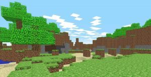 Explore the block-filled world of 'Minecraft' right on your browser