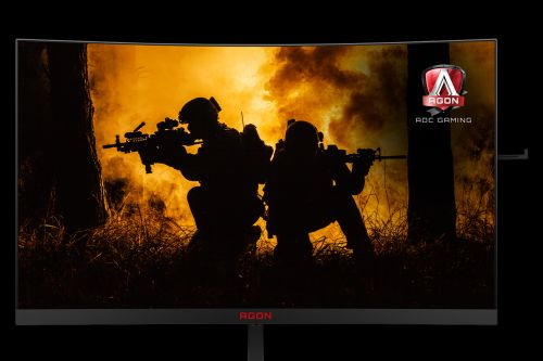 AOC's latest curved gaming monitors offer the important features at an appealing price