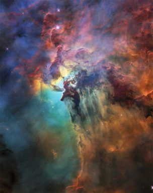 Hubble Celebrates 28th birthday with awesome images of Lagoon Nebula