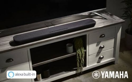 Yamaha YAS-109 and YAS-209 TV sound bars have Alexa built-in