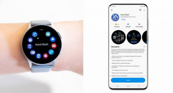 Samsung Hand Wash smartwatch app helps you form a healthy habit