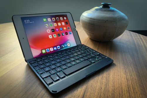 Zagg Folio keyboard case for iPad mini 5 review: Like a book-sized MacBook