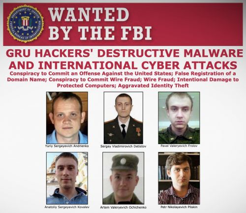 U.S. charges Russian hackers blamed for Ukraine power outages and the NotPetya ransomware attack