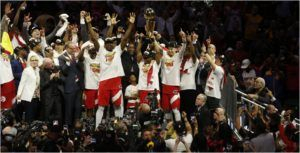 Get ready to relive the Toronto Raptors' NBA finals win in VR