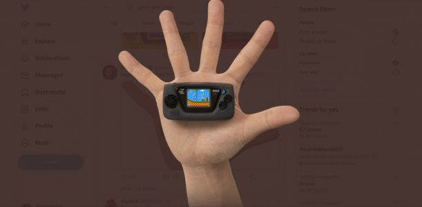 Sega to Unveil on June 10 New 'Game Gear Micro' in Japan for Only $45