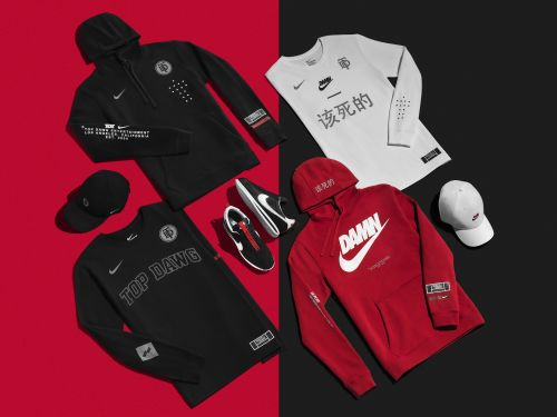 Nike debuts its most ambitious SNKRS stash drop for the Championship Tour featuring Kendrick Lamar and SZA