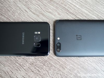 OnePlus 5 vs. Samsung Galaxy S8 camera comparison: Playing catch-up