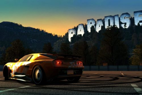 Classic open-world racer Burnout Paradise is being remastered for Xbox One and PS4