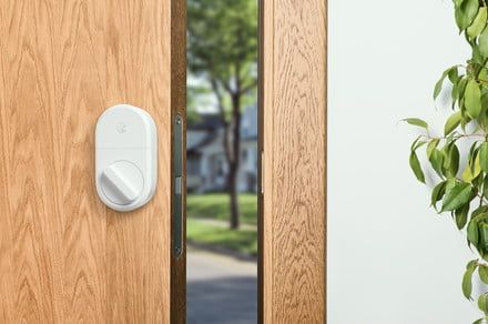 August celebrates 1 billionth use with limited edition white smart lock - CNET