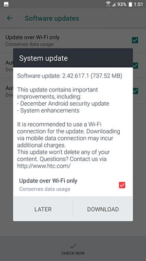 HTC U11 In The US Getting Dec. 2017 Android Security Patch