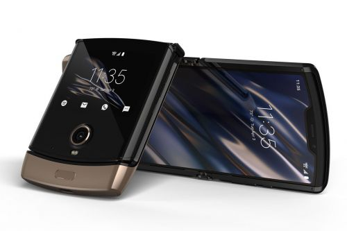 Motorola's $1,499 flipping Razr now comes in gold