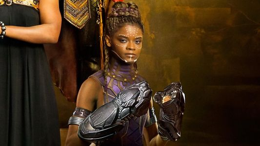 Watch BLACK PANTHER's Princess Shuri Freestyle Rap on the Set of the Film