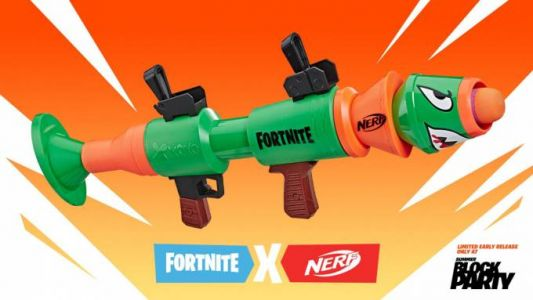Fortnite NERF Rocket Launcher gets an early limited release