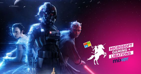 Microsoft, Gaming and Libations: Join us for more Star Wars Battlefront 2 on Mixer and win!