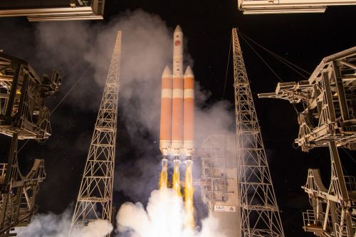 NASA launches Parker Solar Probe in mission to 'touch' the Sun