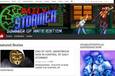 Neo-Nazi site moves to dark web after GoDaddy and Google bans