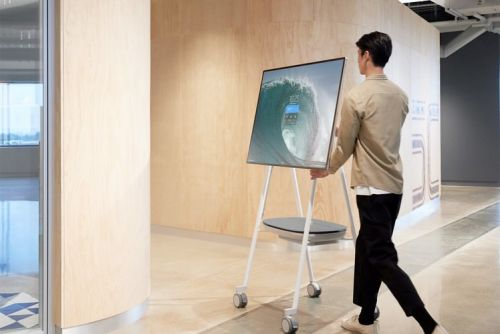 Microsoft's new Surface Hub 2S is even more nuts than its predecessor