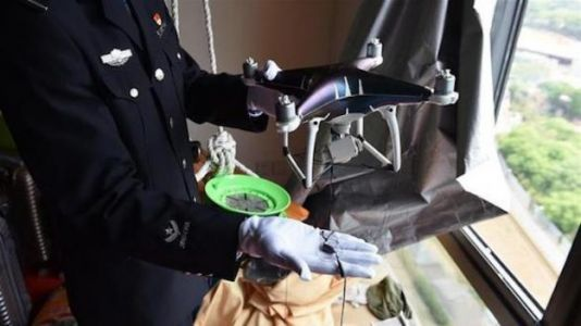 Drone-Assisted Phone Smuggling Ring Busted in China