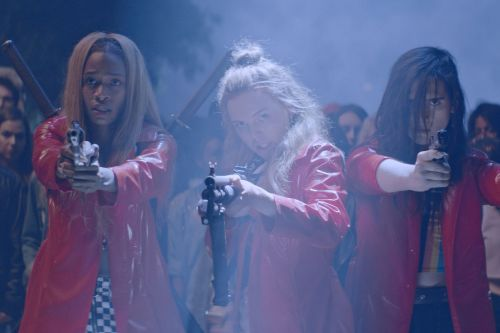 Assassination Nation is a vicious, cathartic horror film about misogyny