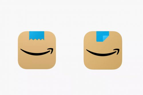Amazon shaves app icon mustache that raised eyebrows