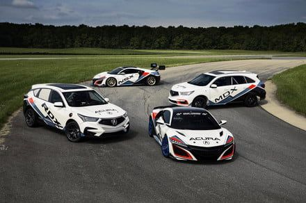 Acura engineers love speed so much that they set up a Pikes Peak race team