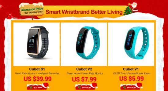 Cubot Smart Band Deals over on AliExpress - Starting at $5.99!