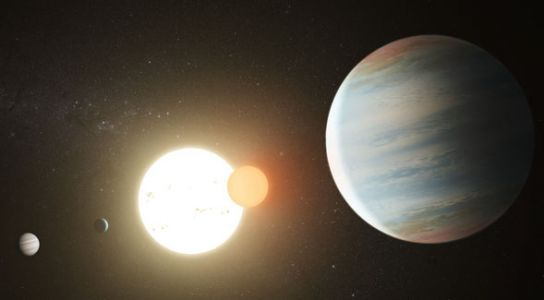 New Planet Discovered in Two-Star 'Tatooine' Kepler-47 System