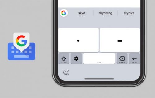 Gboard adds Morse code keyboard on iOS, offers training game