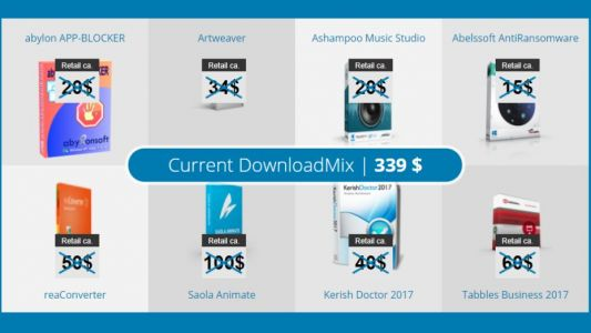 Save 97% on premium PC software with DownloadMix