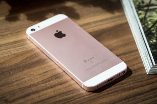 The iPhone SE is available on Apple's online Clearance Products store