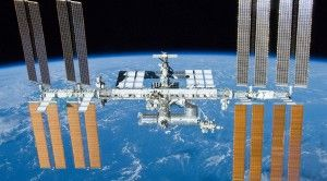 ISS Astronauts Test New Antibacterial Coating on the Bathroom Door
