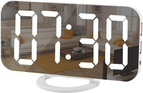 TikTok is obsessed with this $19 mirror LED clock on Amazon