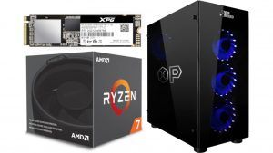 ET Deals: Overpowered GeForce GTX 1080 Gaming Desktop $899, AMD Ryzen 7 2700 $209, Adata XPG 1TB NVMe SSD $129